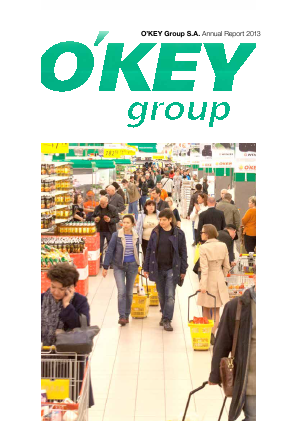 O'key Group SA annual report 2013