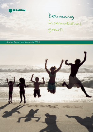 Old Mutual Plc annual report 2005