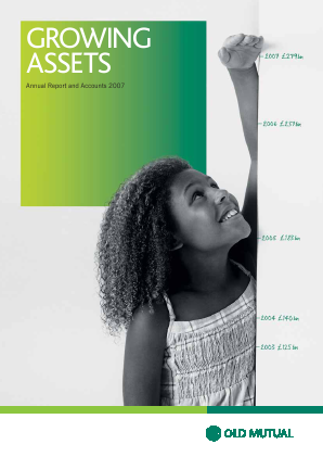 Old Mutual Plc annual report 2007