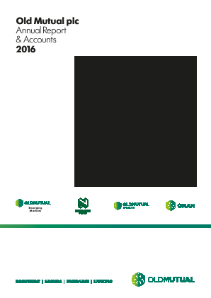 Old Mutual Plc annual report 2016