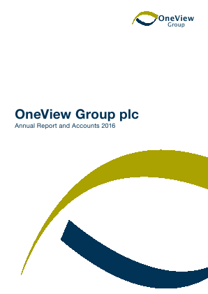 OneView Group annual report 2016