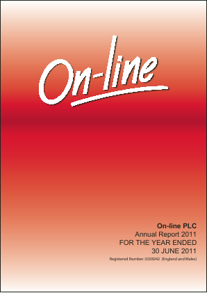 Online Blockchain (previously On-line) annual report 2011