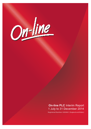 Online Blockchain (previously On-line) annual report 2014