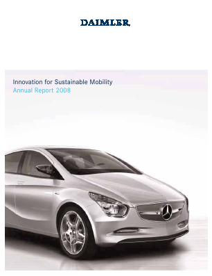 Daimler annual report 2008