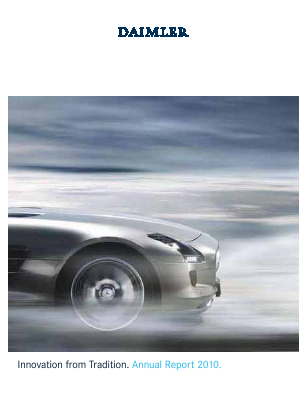 Daimler annual report 2010