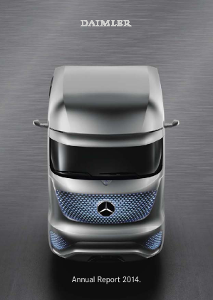 Daimler annual report 2014