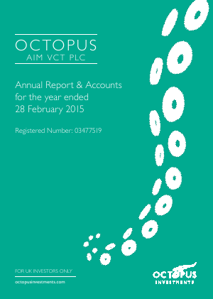 Octopus Aim VCT Plc annual report 2015