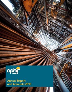 Ophir Energy Plc annual report 2013