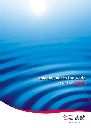 Ooredoo Qsc annual report 2006
