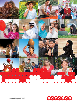 Ooredoo Qsc annual report 2013