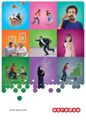 Ooredoo Qsc annual report 2014