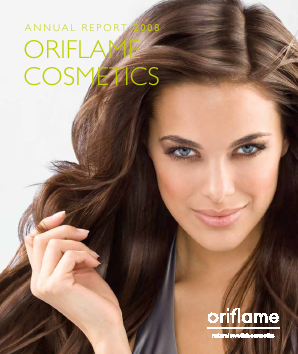 Oriflame Holding annual report 2008