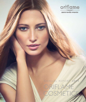 Oriflame Holding annual report 2009