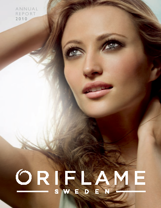 Oriflame Holding annual report 2010