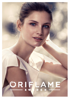 Oriflame Holding annual report 2012