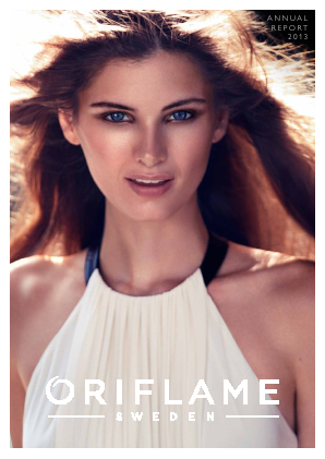 Oriflame Holding annual report 2013