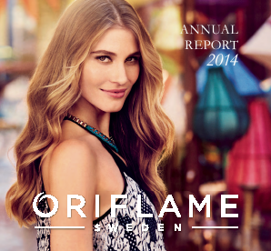 Oriflame Holding annual report 2014
