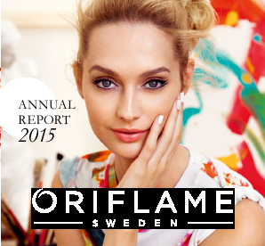 Oriflame Holding annual report 2015