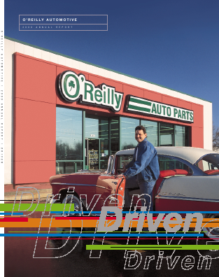 O'Reilly Automotive,  Inc. annual report 2000