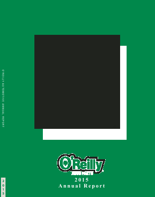 O'Reilly Automotive,  Inc. annual report 2015