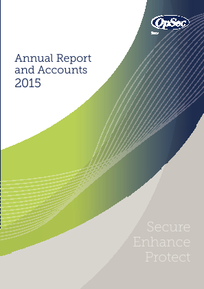 Opsec Security Group Plc annual report 2015