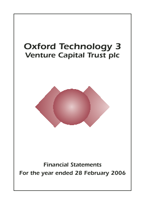 Oxford Technology 3 VCT Plc annual report 2006