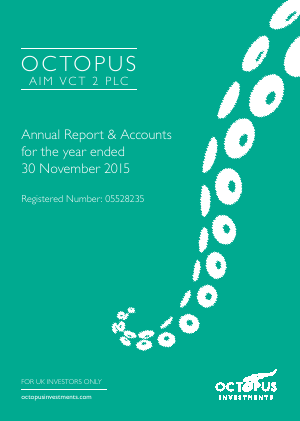 Octopus VCT 2 Plc annual report 2015