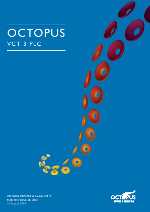 Octopus VCT 3 Plc annual report 2014