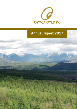 Ovoca Gold annual report 2017