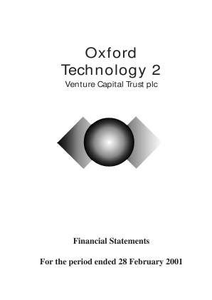 Oxford Technology 2 VCT annual report 2001
