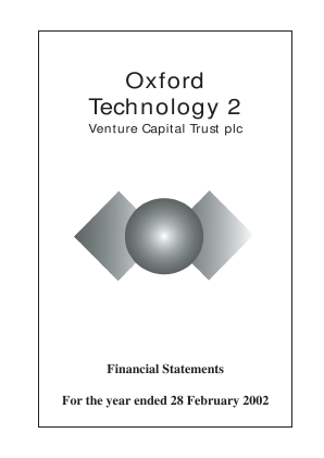 Oxford Technology 2 VCT annual report 2002