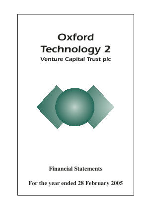 Oxford Technology 2 VCT annual report 2005