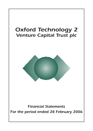 Oxford Technology 2 VCT annual report 2006