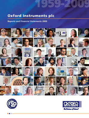 Oxford Instruments annual report 2009