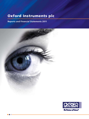 Oxford Instruments annual report 2011