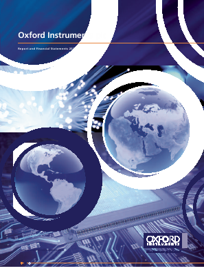Oxford Instruments annual report 2012