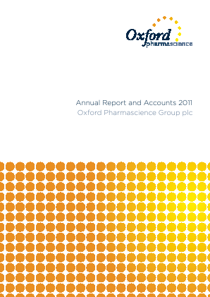 Oxford Pharmascience Group Plc annual report 2011