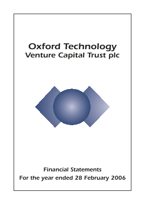 Oxford Technology VCT Plc annual report 2006