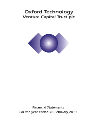Oxford Technology VCT Plc annual report 2011