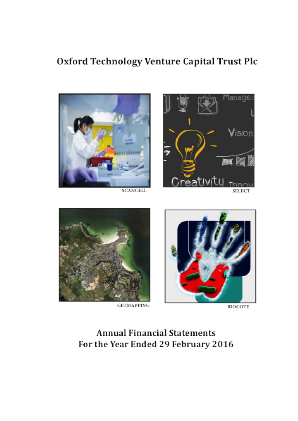 Oxford Technology VCT Plc annual report 2016