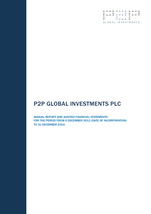 P2P Global Investments Plc annual report 2014