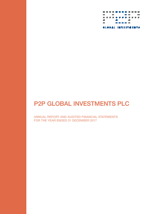 P2P Global Investments Plc annual report 2017