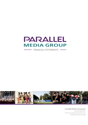 Parallel Media Group Plc annual report 2011