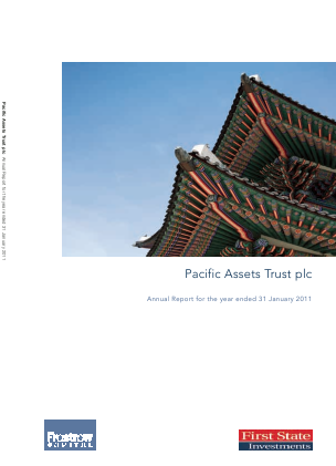 Pacific Assets Trust annual report 2010