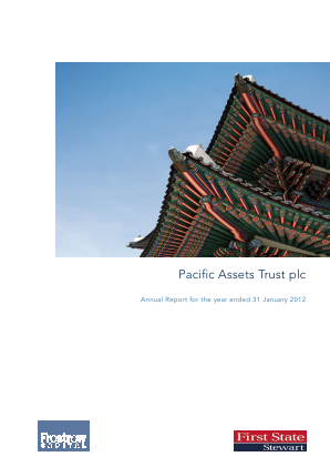 Pacific Assets Trust annual report 2011