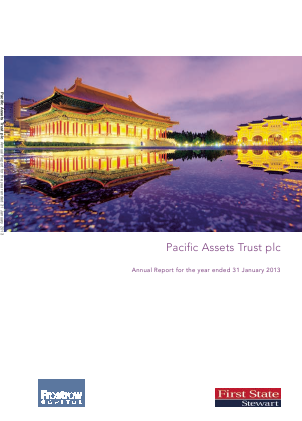 Pacific Assets Trust annual report 2012