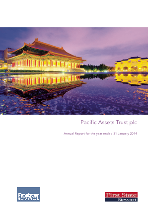 Pacific Assets Trust annual report 2013