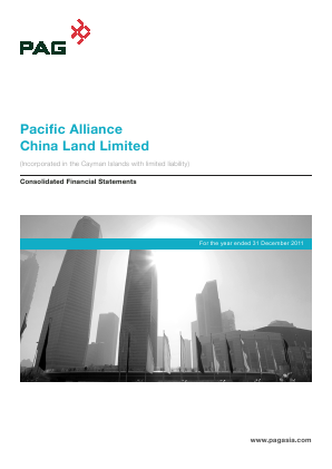 Pacific Alliance China Land annual report 2011