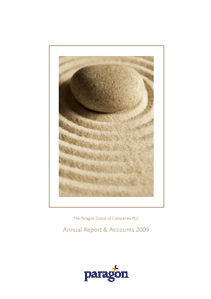 Paragon Banking Group annual report 2009