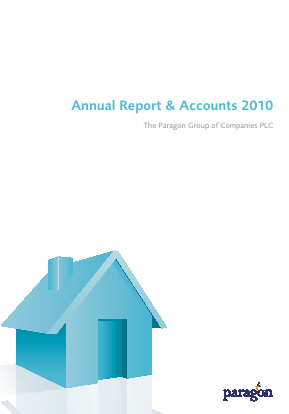 Paragon Banking Group annual report 2010
